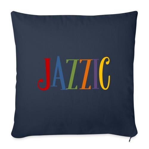 Jazzic Logo - Sofakissen mit Füllung 44 x 44 cm