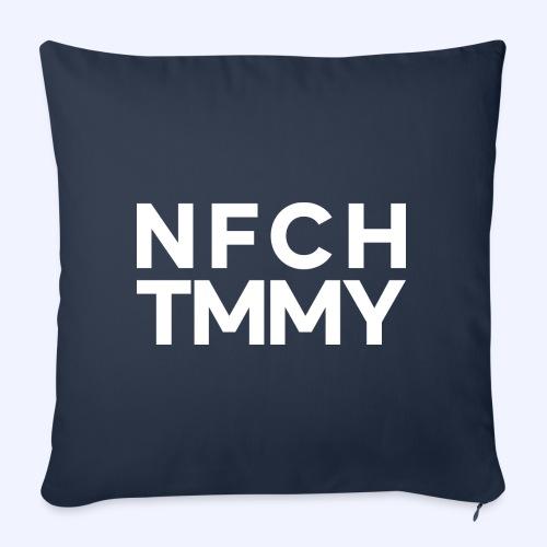 Einfach Tommy / NFCHTMMY / White Font - Sofakissen mit Füllung 44 x 44 cm