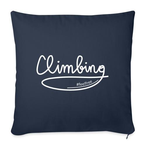 Climbing feelfree - Sofakissen mit Füllung 44 x 44 cm