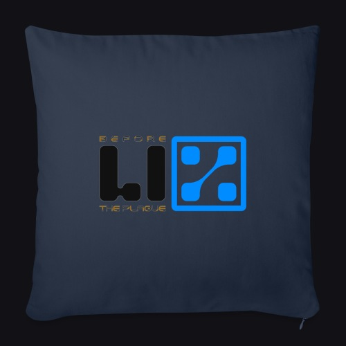 LIZ Before the Plague (Logo) - Cuscino da divano 44 x 44 cm con riempimento