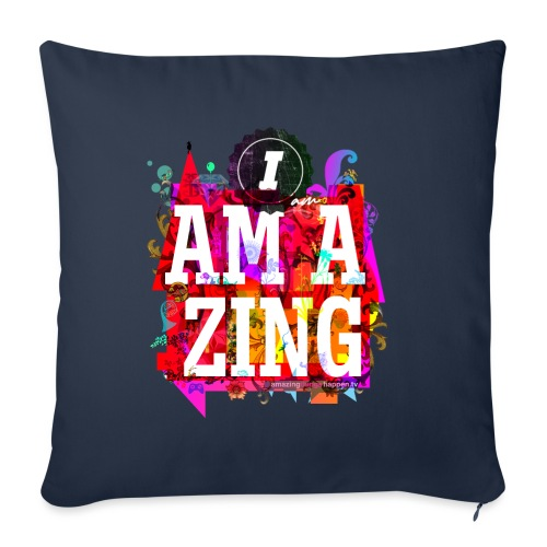 I am Amazing - Sofa pillow with filling 45cm x 45cm