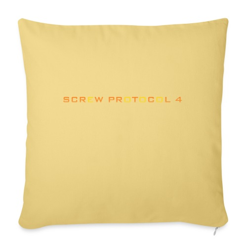 ScrewP4 Final - Sofa pillow with filling 45cm x 45cm