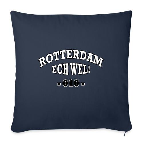 Rotterdam ech wel 010 - Bankkussen met vulling 44 x 44 cm