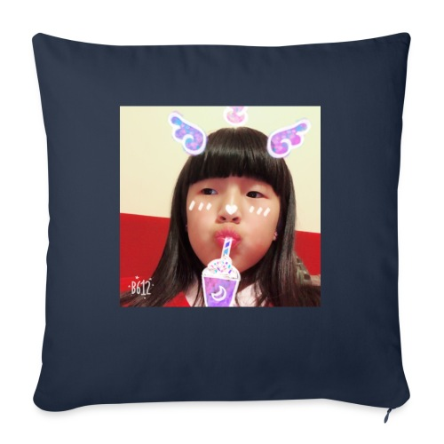 Musical.ly merch - Sofa pillow with filling 45cm x 45cm