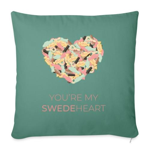 SWEDEheart - Soffkudde med stoppning 44 x 44 cm