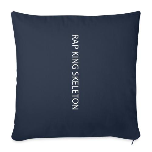 RAP KING SKELETON - Cuscino da divano 44 x 44 cm con riempimento
