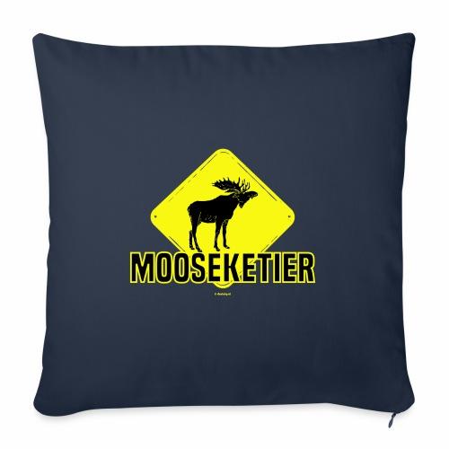 Moosketier - Bankkussen met vulling 44 x 44 cm