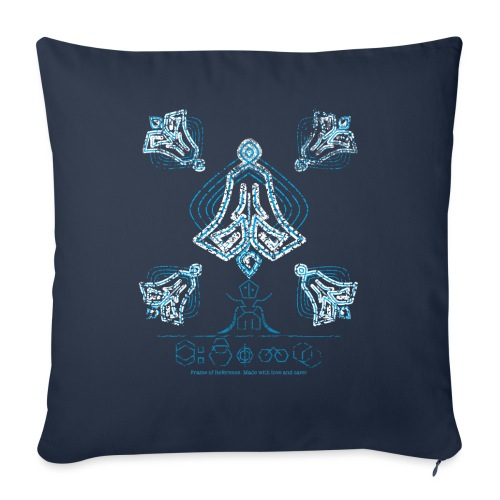 The Prophecy - Sofa pillow with filling 45cm x 45cm