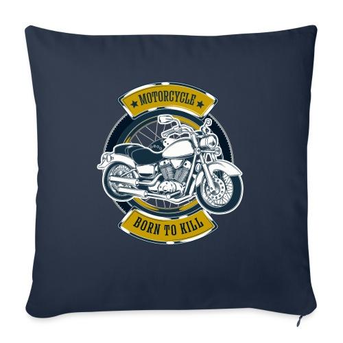 Motorcycle5 - Cojín de sofá con relleno 44 x 44 cm