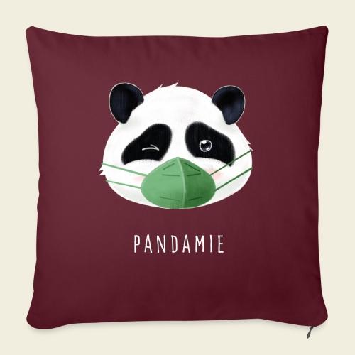 Pandamie - Sofakissen mit Füllung 44 x 44 cm