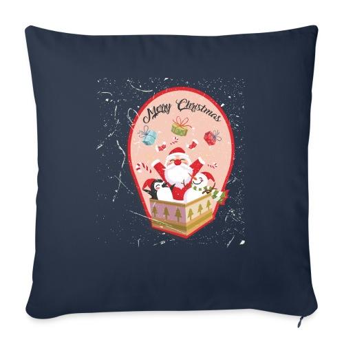 Merry Chrismas1 - Coussin et housse de 45 x 45 cm