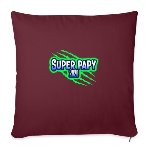 super papy 2020 - Coussin et housse de 45 x 45 cm