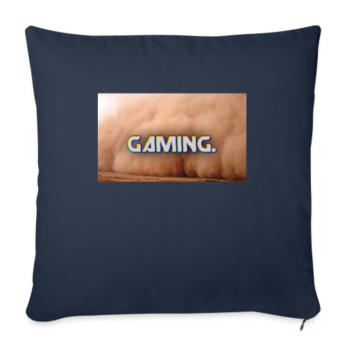 GamingDust LOGO - Sofa pillow with filling 45cm x 45cm
