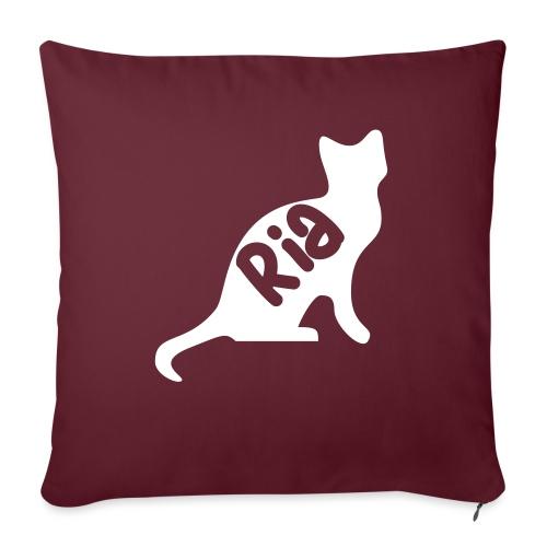Team Ria Cat - Sofa pillow with filling 45cm x 45cm