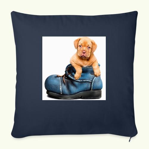 Cucciolo - Cuscino da divano 44 x 44 cm con riempimento