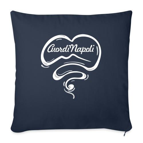 CuordiNapoli New Logo - Cuscino da divano 44 x 44 cm con riempimento