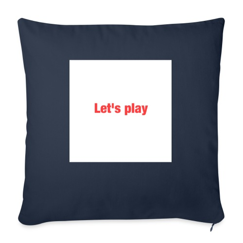 Let's play - Sofa pillow with filling 45cm x 45cm