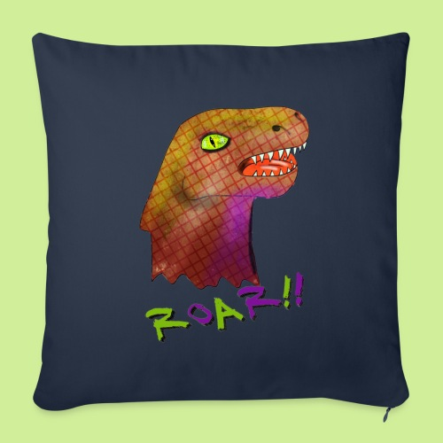 Dino - Sofa pillow with filling 45cm x 45cm