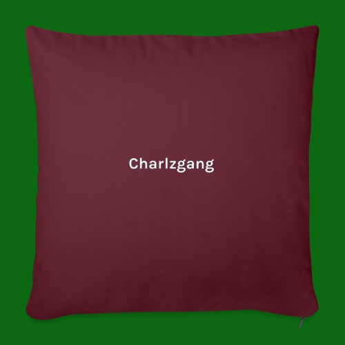 Charlzgang - Sofa pillow with filling 45cm x 45cm