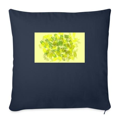 greenandyellow - Cojín de sofá con relleno 44 x 44 cm