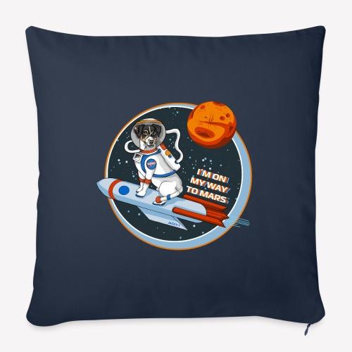 Astrodog - Sofakissen mit Füllung 44 x 44 cm