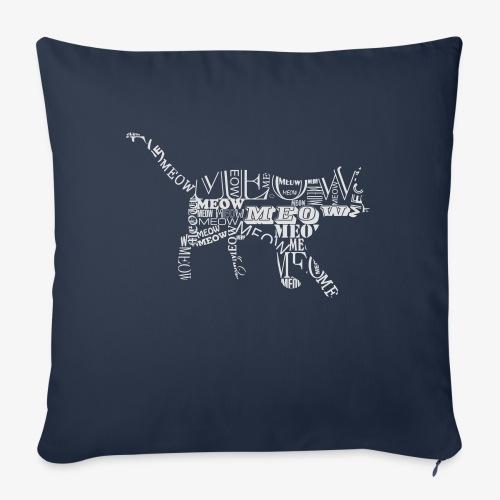 cat 6 - Poduszka na kanapę z wkładem 44 x 44 cm