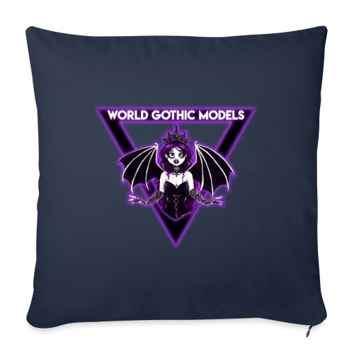 WGM Goth Queen 2021 Merch - Sofa pillow with filling 45cm x 45cm