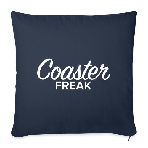 Coaster Freak Script - Coussin et housse de 45 x 45 cm