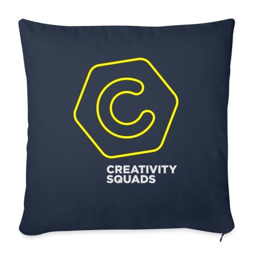 CreativitySquads 002 - Sohvatyynyt täytteellä 44 x 44 cm