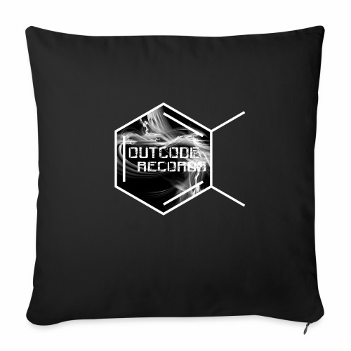 Outcode Records - Cojín de sofá con relleno 44 x 44 cm