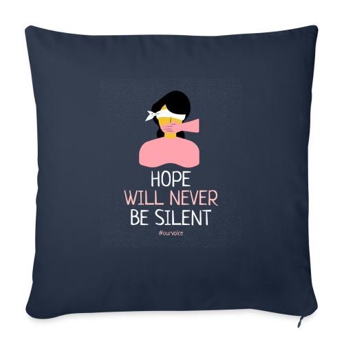 women s rights tshirt design - Cojín de sofá con relleno 44 x 44 cm