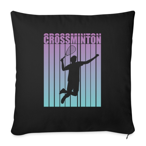 Crossminton - Speed badminton - Sofa pillow with filling 45cm x 45cm