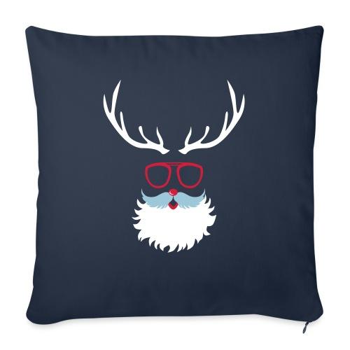 Santa Clauss Eye glasses - Coussin et housse de 45 x 45 cm