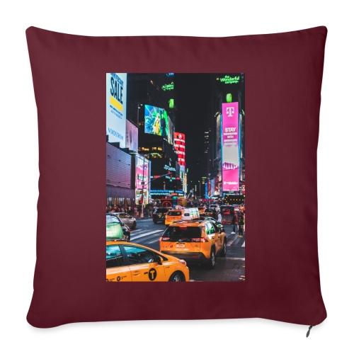 New-York - Coussin et housse de 45 x 45 cm