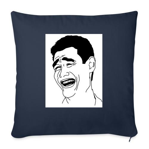 Yao Ming Face Bitch Please - Poduszka na kanapę z wkładem 44 x 44 cm