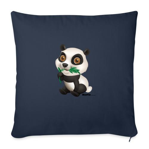 Panda - Sofapute med fylling 44 x 44 cm