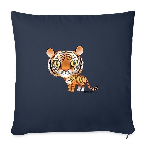 Tygrys - Poduszka na kanapę z wkładem 44 x 44 cm