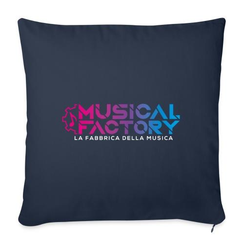Musical Factory Sign - Cuscino da divano 44 x 44 cm con riempimento