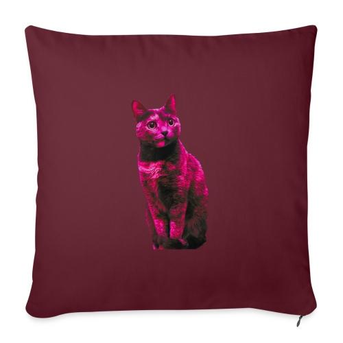 Gatto - Cuscino da divano 44 x 44 cm con riempimento