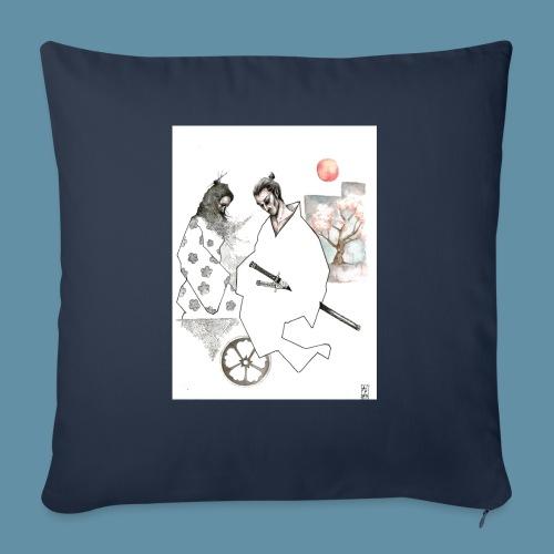 Samurai copia jpg - Cuscino da divano 44 x 44 cm con riempimento