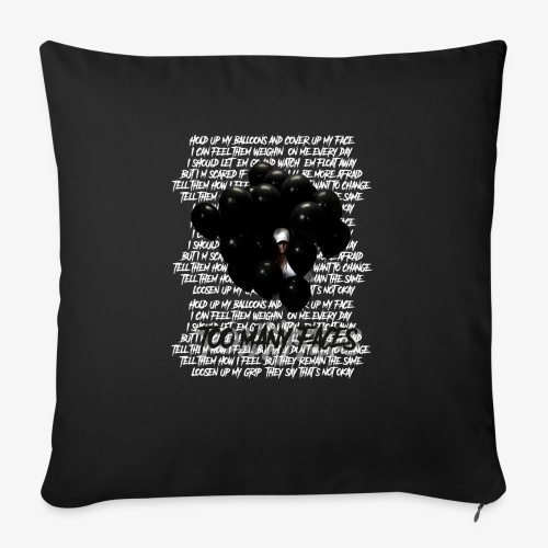Too many faces (NF) - Sofa pillow with filling 45cm x 45cm