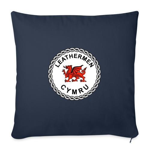 LeatherMen Cymru Logo - Sofa pillow with filling 45cm x 45cm