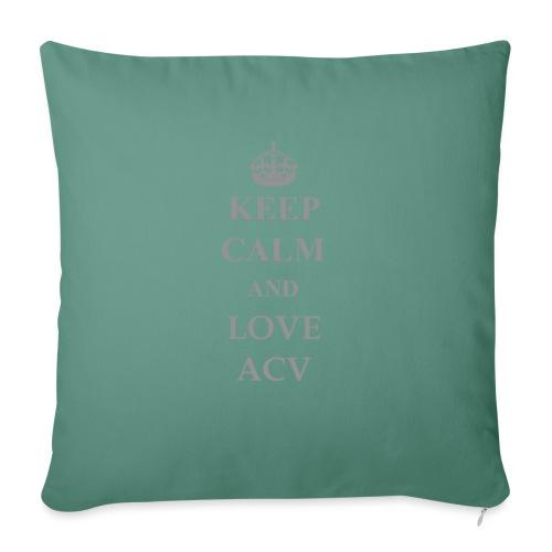 Keep Calm and Love ACV - Schriftzug - Sofakissen mit Füllung 44 x 44 cm
