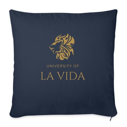 University of LA VIDA - Soffkudde med stoppning 44 x 44 cm