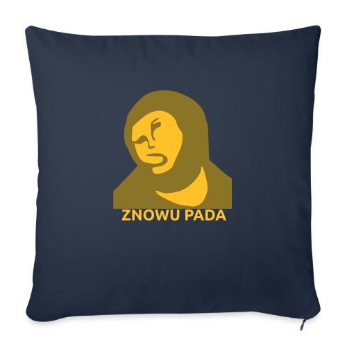 Znowu pada Jeżus z Borja - Poduszka na kanapę z wkładem 44 x 44 cm