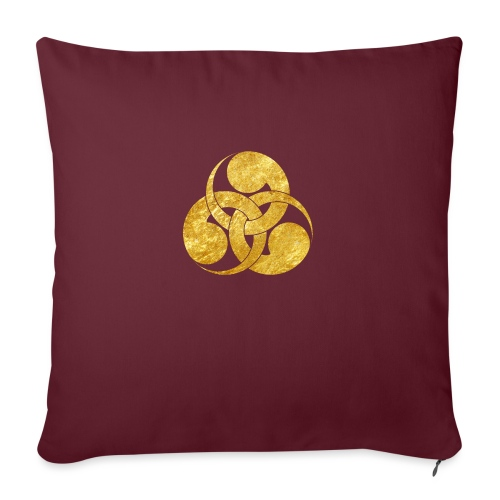 Tadpole Mon Japanese samurai clan - Sofa pillow with filling 45cm x 45cm
