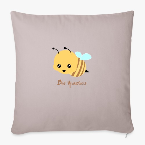 Bee Yourself - Sofapude med fyld 44 x 44 cm