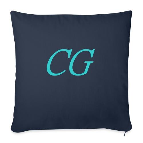CG - Coussin et housse de 45 x 45 cm