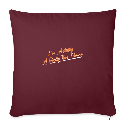 nice-person - Sofa pillow with filling 45cm x 45cm