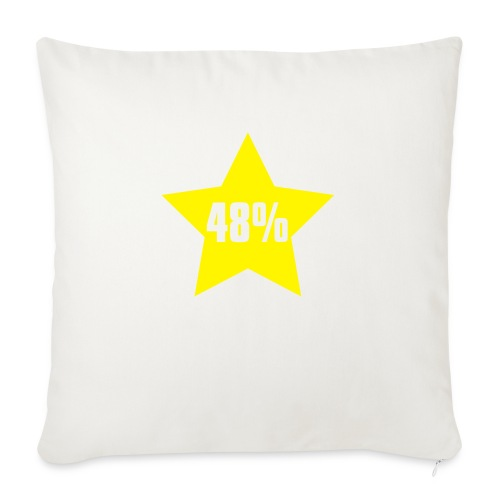 48% in Star - Sofa pillow with filling 45cm x 45cm